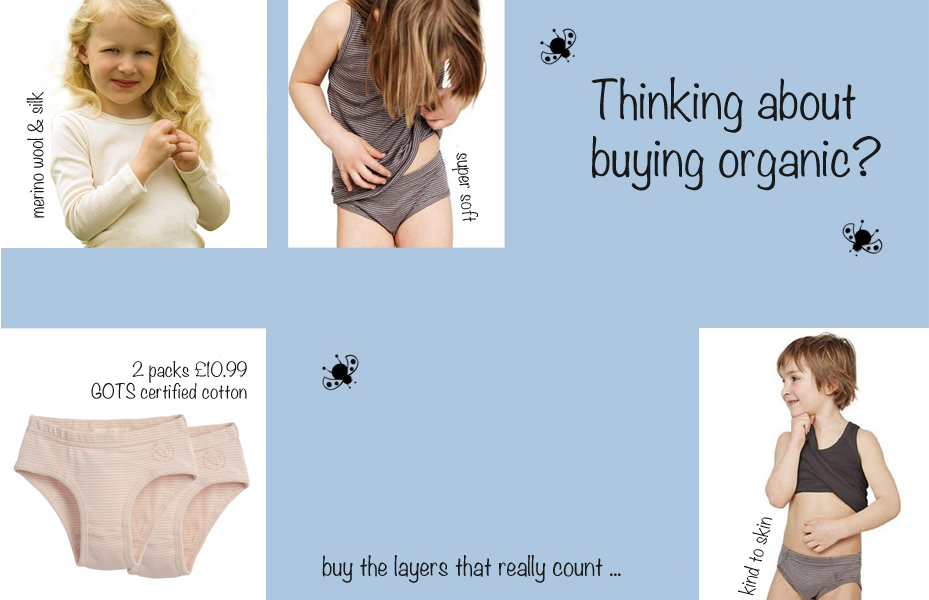 Living crafts & Engel organic children's underwear