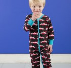 Maxomorra ~ Boys organic cotton Formula 1 cars rompersuit