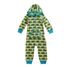 Maxomorra – organic cotton onesie in green Chameleon design
