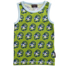 Maxomorra ~ monkey print organic cotton tank top sleeveless vest