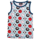 Maxomorra ~ sports print organic cotton tank top sleeveless vest