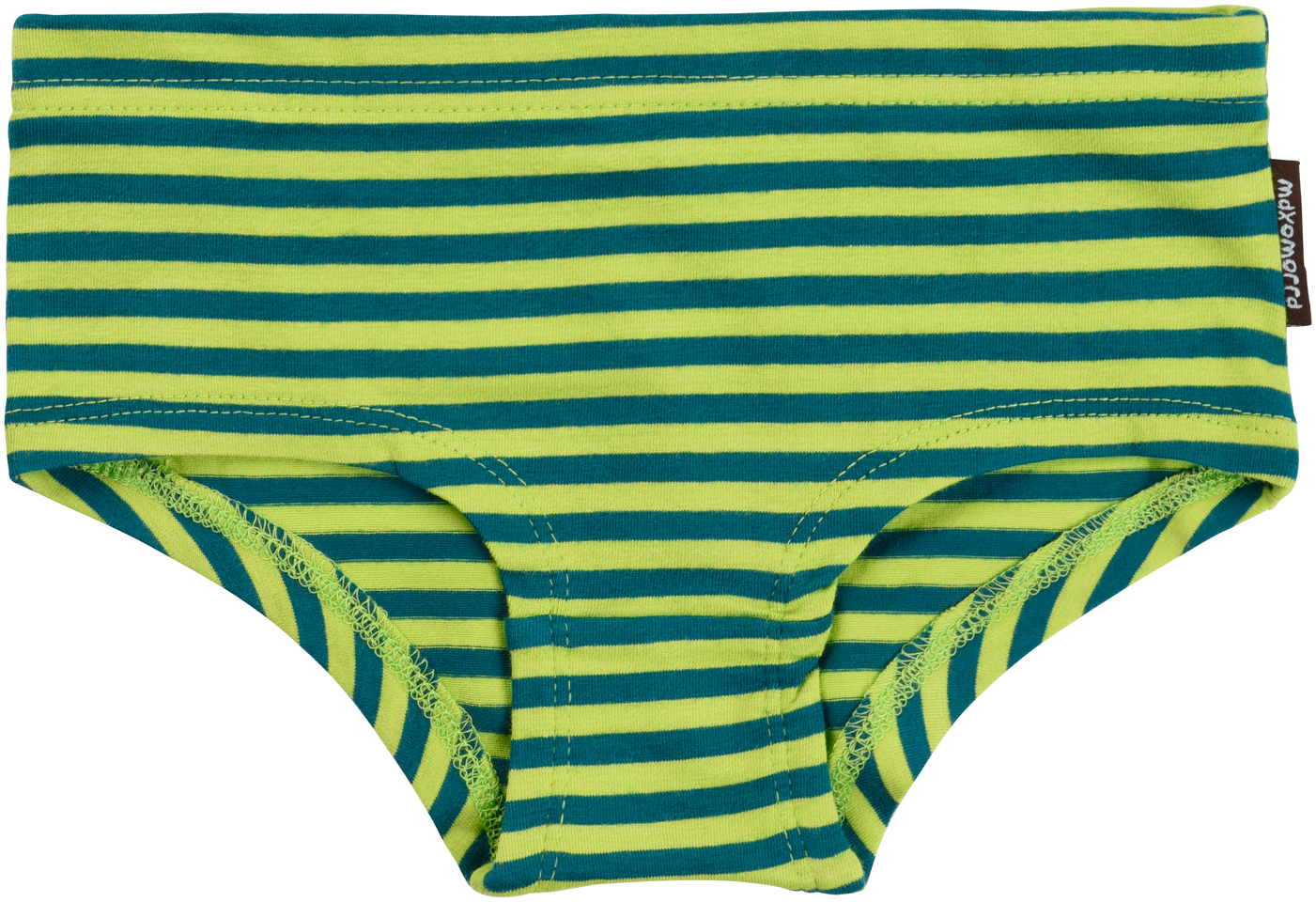 Bright Colours Striped Toddler Knickers In Organic Cotton
