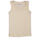Engel ~ Organic 100% Merino wool sleeveless vests | Natural white