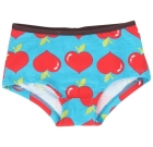 Maxomorra organic cotton hipster knickers in lovely apples print