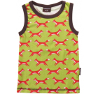 Maxomorra ~ foxes organic cotton sleeveless vest