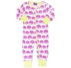 Elephant sleepsuit in organic cotton from Maxomorra