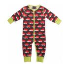 Hedgehog print sleepsuit by Maxomorra in organic cotton