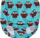 Maxomorra owls print organic cotton baby briefs