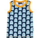 Maxomorra ~ Ghost organic cotton sleeveless vest