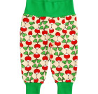 DUNS Sweden Radish print baby trousers in organic cotton