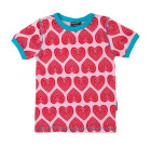 Maxomorra ~ Hearts organic cotton t-shirt