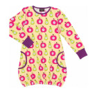 Maxomorra ~ Apples & pears organic cotton balloon dress