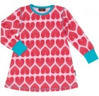 Maxomorra ~ hearts print organic cotton tunic top