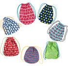 Bright ethical gym kit bags in Scandi prints by Maxomorra