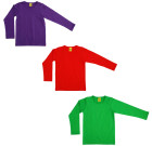 More than a Fling bright plain colour tops | Purple | Green | Red