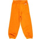 Orange organic velour toddler and children's bottoms by Maxomorra
