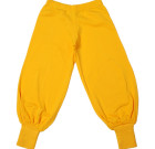 More than a Fling bright plain colour yellow joggers