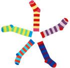 DUNS Sweden organic stripy knee high socks