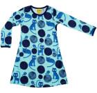 Blue cat organic long sleeve dress – More than a fling