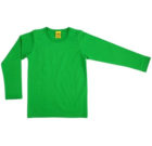 More than a Fling bright plain colour green long sleeve top