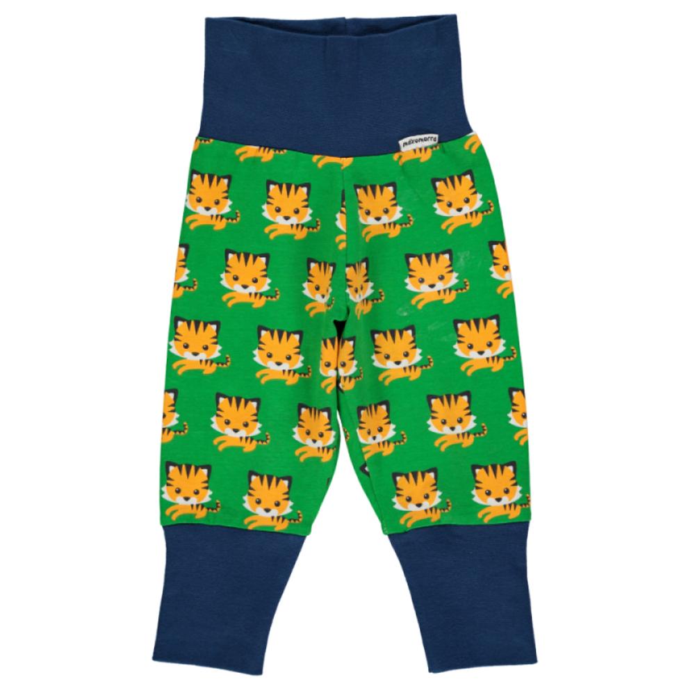 Tiger Print Organic Cotton Baggy Trousers By Maxomorra Ebay