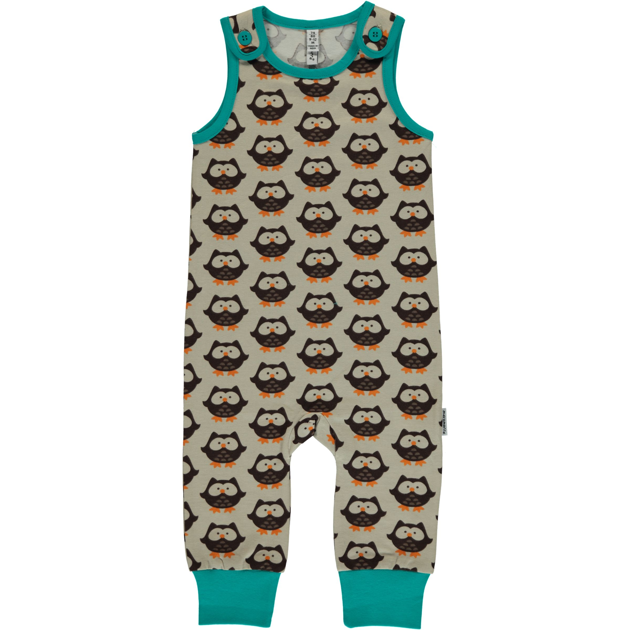Maxomorra Mighty Moose Dungarees
