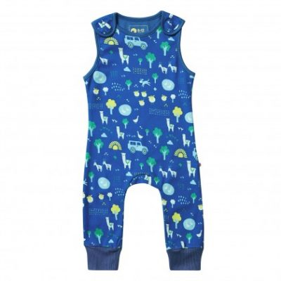 2868c25d746 Stackhouse dungarees by Piccalilly in organic cotton